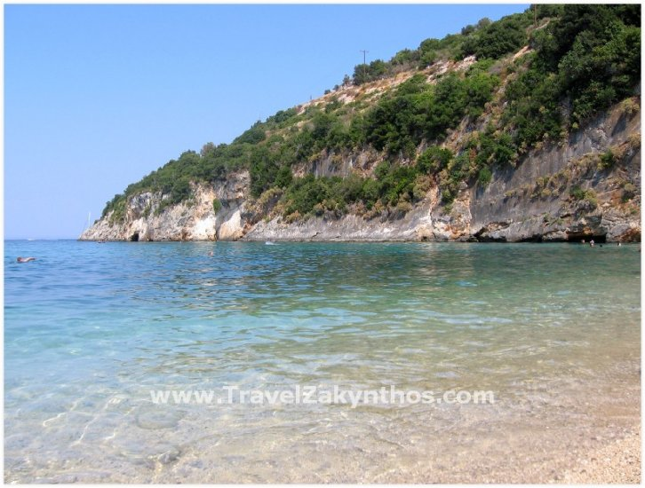 Makrys Gialos Beach - Zakynthos - Click Image to Close