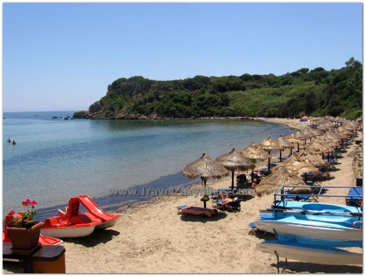 Saint Nikolaos beach or St. Nicholaos Zakynthos - Vasilikos - Click Image to Close