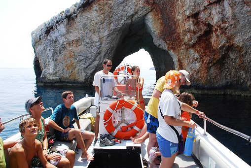 Boat trips to Shipwreck beach (Navagio) with Potamitis Bros - Click Image to Close