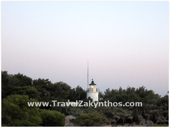 The Lighthouse and Sunset in Keri Zakynthos - Click Image to Close