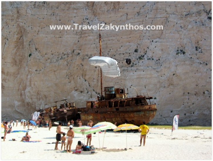 Shipwreck Beach - Zakynthos - Click Image to Close