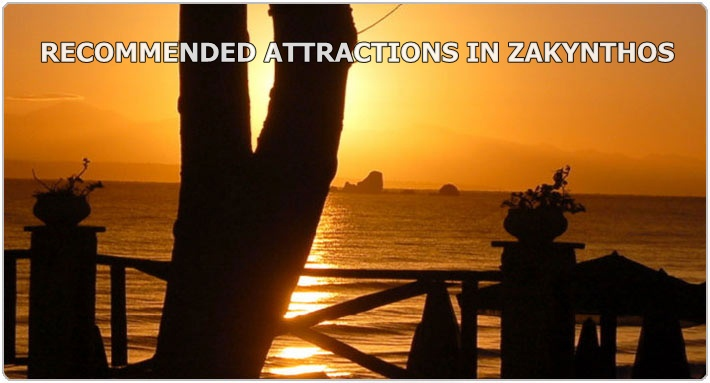 ZANTE ATTRACTIONS RECOMMENDED